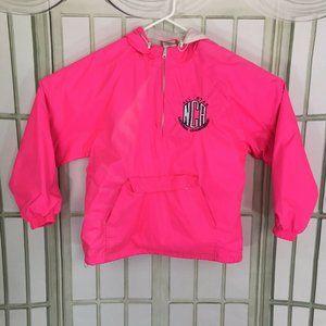 Varsity Spirit Shop Women's Hooded 1/4 Zip Pink SM